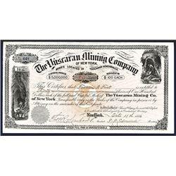Yuscaran Mining Co. 1886. I/U Stock.