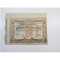 Compagnie Universelle du Canal Interoceanique de Panama 1888 Bond.