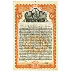 Republic of Panama, 1926 Specimen Bond.