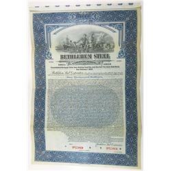 Bethlehem Steel Corp, 1923 Specimen Bond