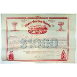 Brady's Bend iron Co., 1867 Issued Bond