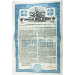 Triborough Bridge Authority, 1945 Specimen Bond