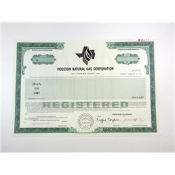 TX. Houston Natural Gas Corp., 1984 Specimen Bond XF