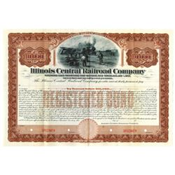 Illinois Central Rail Road Co., 1902 Specimen Bond