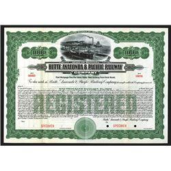 Butte, Anaconda & Pacific Railway Co. MT.