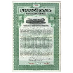 Pennsylvania Railroad Co. Specimen Bond.
