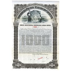 Southern Pacific Railroad Co., 1905 Specimen Bond