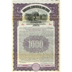 Carolina, Clinchfield and Ohio Railway, 1926 Specimen Bond