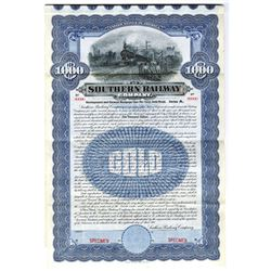 Southern Railway Co., 1906 Specimen Bond