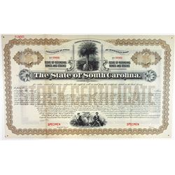 State of South Carolina, 1912 Specimen Registered Bond.