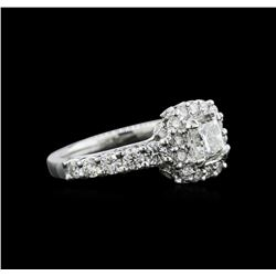 1.69 ctw Diamond Ring - 18KT White Gold