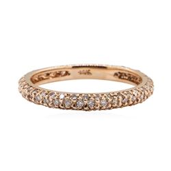 0.5 ctw Diamond Ring - 14KT Rose Gold