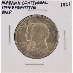 1921 Alabama Centennial Commemorative Half Dollar Coin