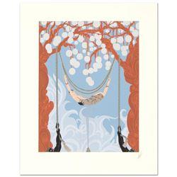 Spider Web by Erte (1892-1990)