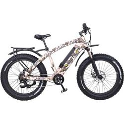 QUIETKAT 750W ELECTRIC POWER BIKE RANGER SUSPEN FORK CAMO