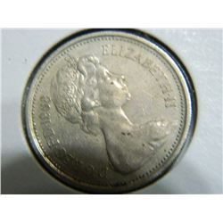 COIN - 5 NEW PENCE - 1968