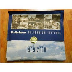 THE PROVINCE - MILLENIUM EDITION - 1999-2000 - PLUS EXAMINER (NOV 7, 1989)