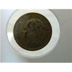 COIN - NEDERLANDEN - 10 CENTS - 1938