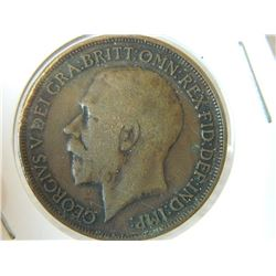 COIN - ONE PENNY - 1914