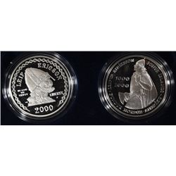 2000-P -LEIF ERICSON COMMEMORATIVE 2 - COIN