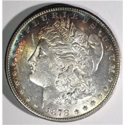 1878-S MORGAN DOLLAR CRAZY COLORS