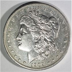 1903-S MORGAN DOLLAR AU+ KEY DATE