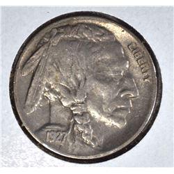 1927-S BUFFALO NICKEL  CH.XF