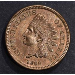 1860 INDIAN CENT, CH BU NICE!!