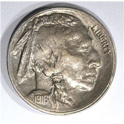 1916-S BUFFALO NICKEL, CH BU