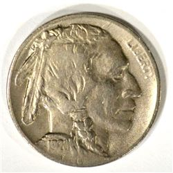 1920-D BUFFALO NICKEL, XF