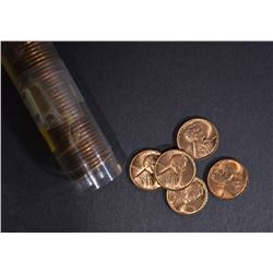 1942 LINCOLN CENT BU ROLL
