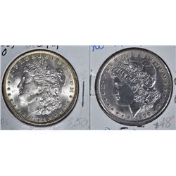 1884-O MORGAN DOLLAR CHBU & 1900