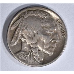 1927-D BUFFALO NICKEL XF