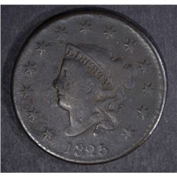 1825 LARGE CENT F/VF
