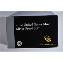 2012 U.S. SILVER PROOF SET IN ORIG.BOX no COA