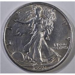 1920 WALKING LIBERTY HALF DOLLAR  CH BU