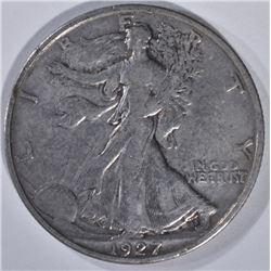 1927-S WALKING LIBERTY HALF DOLLAR  XF