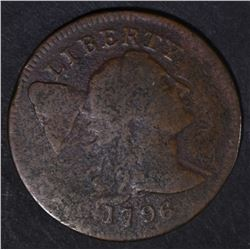 1796 LIBERTY CAP LARGE CENT  FINE