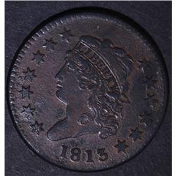 1813 LARGE CENT  AU