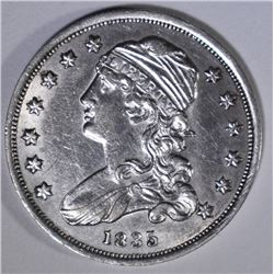 1835 CAPPED BUST QUARTER  AU/BU
