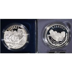 2 PROOF SILVER DOLLARS