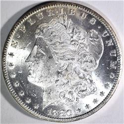 1880-CC MORGAN DOLLAR, CH BU+