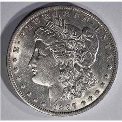 1897-O MORGAN DOLLAR, CH BU