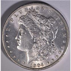 1904 MORGAN DOLLAR CHOICE BU
