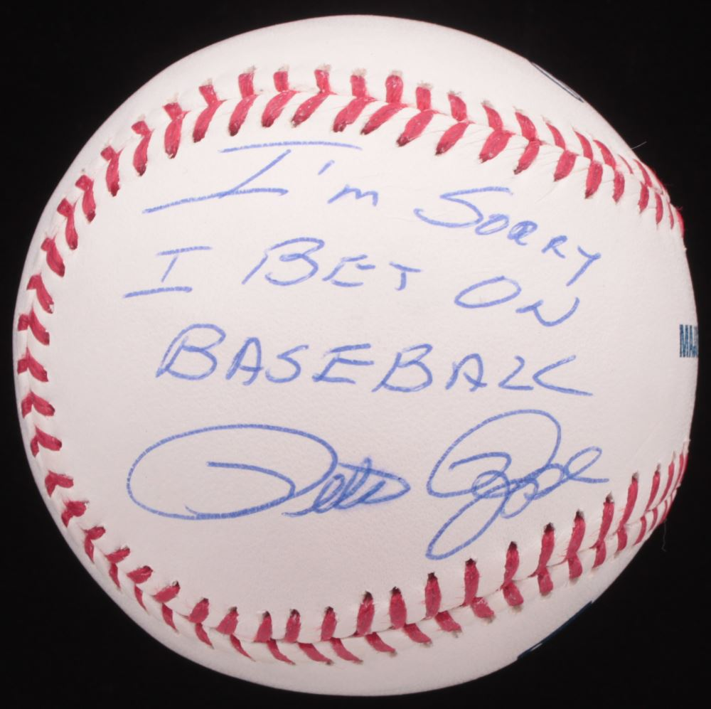 Pete rose i m sorry i bet on baseball choctaw sports betting