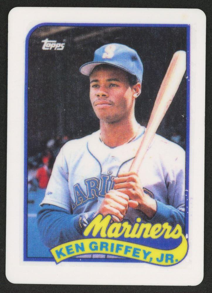 b08d41fdd8 Image 1 : Ken Griffey Jr. 1989 Topps Traded #41T RC Replica Porcelain  Baseball