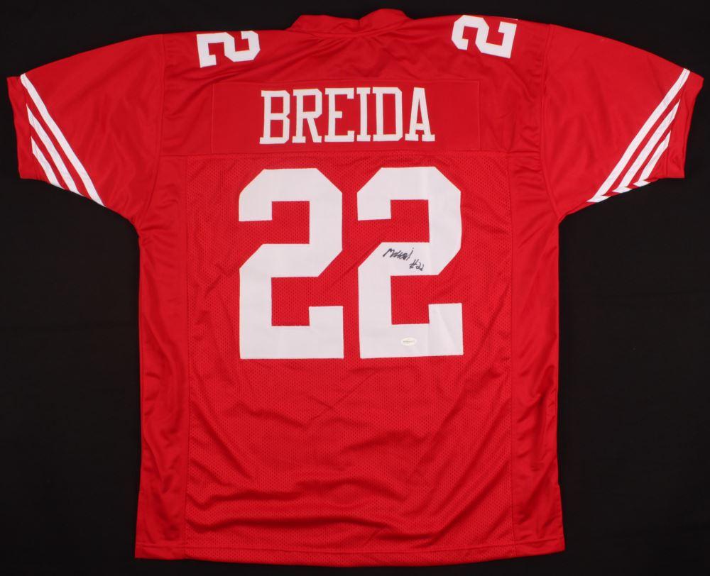 the latest 9d270 afb31 Matt Breida Signed 49ers Jersey (TSE Hologram)