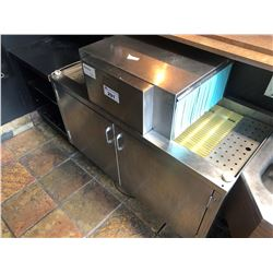 MOYER DEIBEL STAINLESS STEEL GLASS WASHER