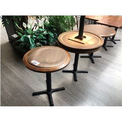 """4 X 24"""" ROUND TABLES"""