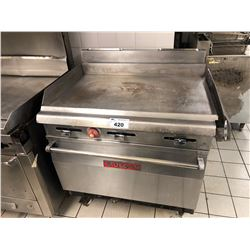 STAINLESS STEEL VULCAN  GRIDDLE WITH OVEN
